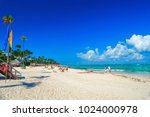 White Sand Of The Dominican...
