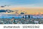 madrid  spain  december   2017  ... | Shutterstock . vector #1024022362