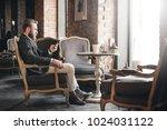 full length portrait of...   Shutterstock . vector #1024031122