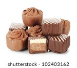 the tasty sweets from a milk... | Shutterstock . vector #102403162