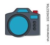 vintage photographic camera   Shutterstock .eps vector #1024032706