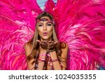 port of spain  trinidad  ... | Shutterstock . vector #1024035355