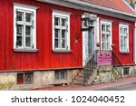 parnu estonia march 02 old... | Shutterstock . vector #1024040452