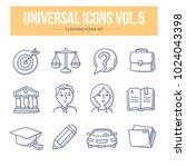 doodle vector universal generic ... | Shutterstock .eps vector #1024043398
