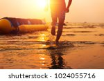 sharp front water and blur... | Shutterstock . vector #1024055716