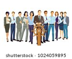 competitor and competition ... | Shutterstock . vector #1024059895
