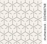 vector seamless pattern. modern ...   Shutterstock .eps vector #1024060768