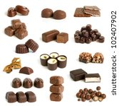 Chocolate Sweets Collection On...