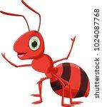 illustration of happy ant... | Shutterstock . vector #1024087768