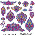 big vector set of colorful...
