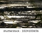 abstract shining glass shards... | Shutterstock . vector #1024103656