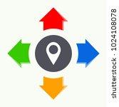 vector of abstract logo...   Shutterstock .eps vector #1024108078