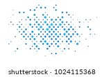 light blue vector banner with... | Shutterstock .eps vector #1024115368