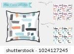 interior design textile... | Shutterstock .eps vector #1024127245