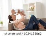 family  motherhood and people... | Shutterstock . vector #1024133062