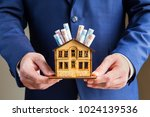 real estate and mortgage... | Shutterstock . vector #1024139536