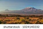 arid dry african savanna in...   Shutterstock . vector #1024140232