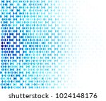 abstract blue geometric shapes  ... | Shutterstock .eps vector #1024148176