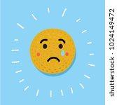 vector cartoon illustration of... | Shutterstock .eps vector #1024149472