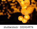 Light Bulb  Lanterns  Thailand