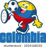 soccer ball mascot | Shutterstock .eps vector #1024168102