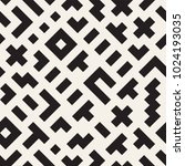 seamless vector chaotic pattern.... | Shutterstock .eps vector #1024193035