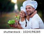 closeup portrait of cute little ...   Shutterstock . vector #1024198285
