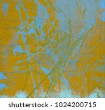 abstract painting. ink handmade ... | Shutterstock . vector #1024200715