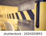 barrier tape for no entry.... | Shutterstock . vector #1024203892