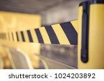 barrier tape for no entry.... | Shutterstock . vector #1024203892
