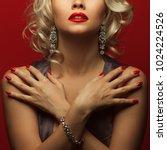 girl's best friends and femme... | Shutterstock . vector #1024224526