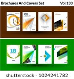 mega set of abstract templates... | Shutterstock .eps vector #1024241782