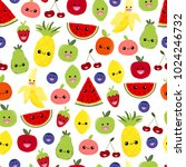 seamless pattern of bright... | Shutterstock . vector #1024246732