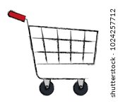 shopping cart isolated icon | Shutterstock .eps vector #1024257712