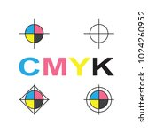 cmyk vector icon | Shutterstock .eps vector #1024260952