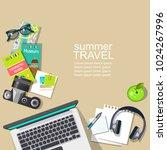 vector mockup for online...   Shutterstock .eps vector #1024267996