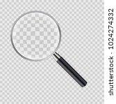 magnifying glass vector... | Shutterstock .eps vector #1024274332