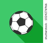 football flat icon. simple... | Shutterstock .eps vector #1024276966