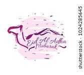 eid al adha mubarak has mean...   Shutterstock .eps vector #1024285645