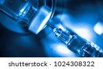 medication drug needle syringe... | Shutterstock . vector #1024308322