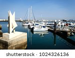 peniche  portugal   october 8 ... | Shutterstock . vector #1024326136