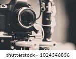 detail of video camera   film... | Shutterstock . vector #1024346836