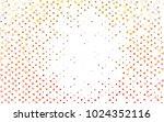 light yellow  orange vector... | Shutterstock .eps vector #1024352116