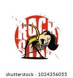 cartoon sketch of hipster male...   Shutterstock .eps vector #1024356055