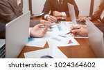 business people teamwork ... | Shutterstock . vector #1024364602