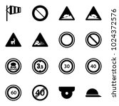 solid vector icon set   side...   Shutterstock .eps vector #1024372576