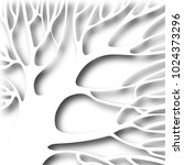 tree  from paper. cutting on... | Shutterstock . vector #1024373296