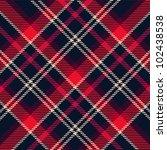 plaid pattern | Shutterstock .eps vector #102438538