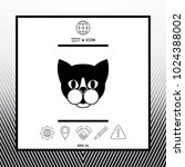 cat   logo  protect sign icon | Shutterstock .eps vector #1024388002