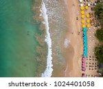 beautiful beach in thiranagama... | Shutterstock . vector #1024401058